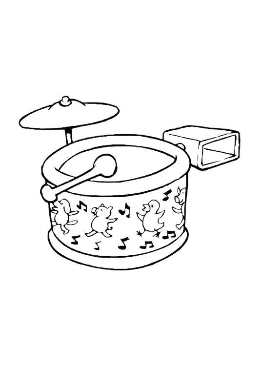531x750 Drum Coloring Page As Cool Coloring Page Drum Set Snare Drum