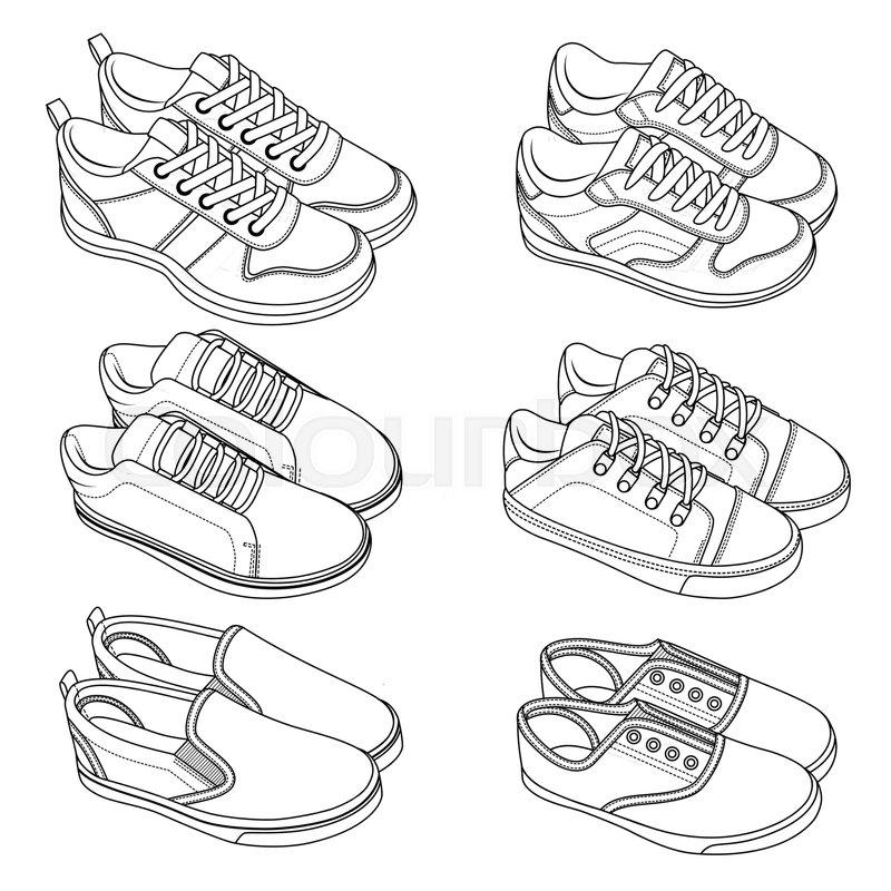 Sneakers Drawing