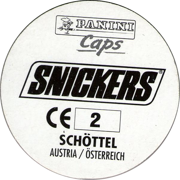 600x600 Panini Caps Gt Snickers Euro 96