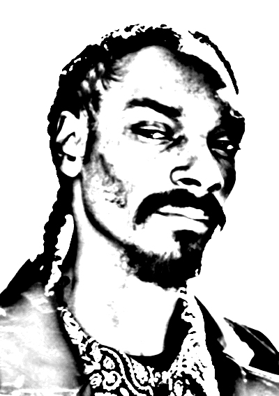 400x568 Snoop Dogg Photocopy By Tylerdurden59
