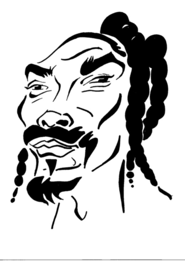 600x847 Snoop Dogg Sketch By Audacity341