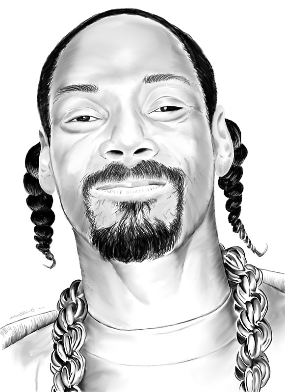 581x800 Snoop Dogg Stickers By Kevin L Brooks Redbubble