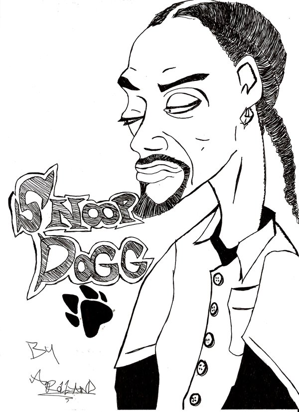 600x825 Snoop Dogg By Andyroll1991