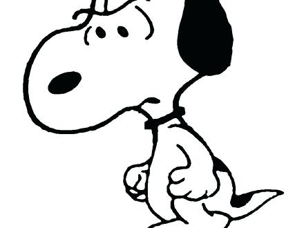 440x330 Snoopy And Woodstock Coloring Pages For How To Draw Step 5 1 5