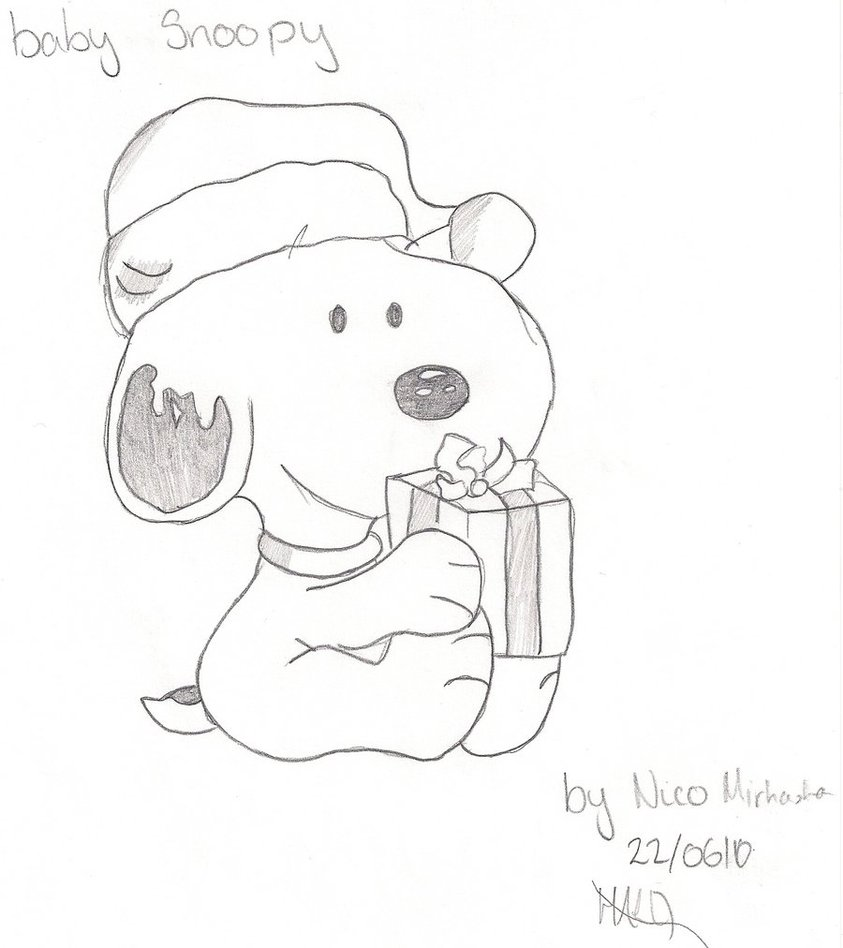Snoopy Drawing Pictures At GetDrawings