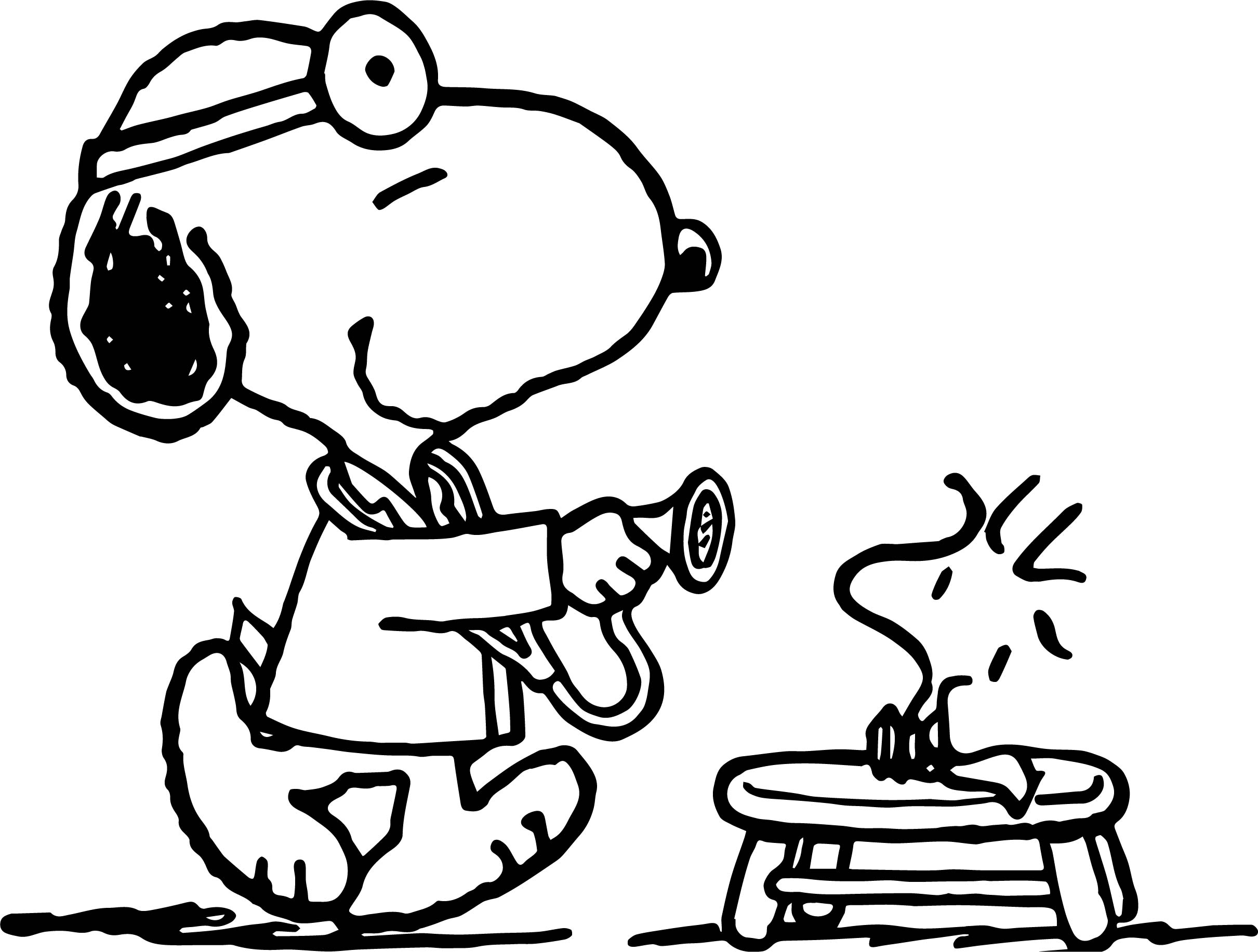 2421x1833 Snoopy Doctor Coloring Page Picture Wecoloringpage