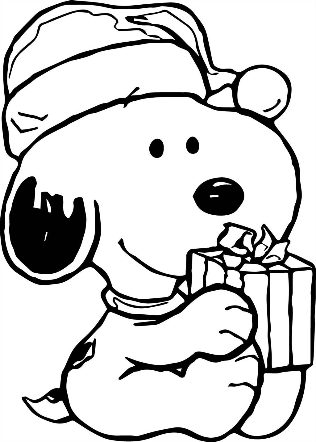 It is a picture of Resource Snoppy Coloring Pages