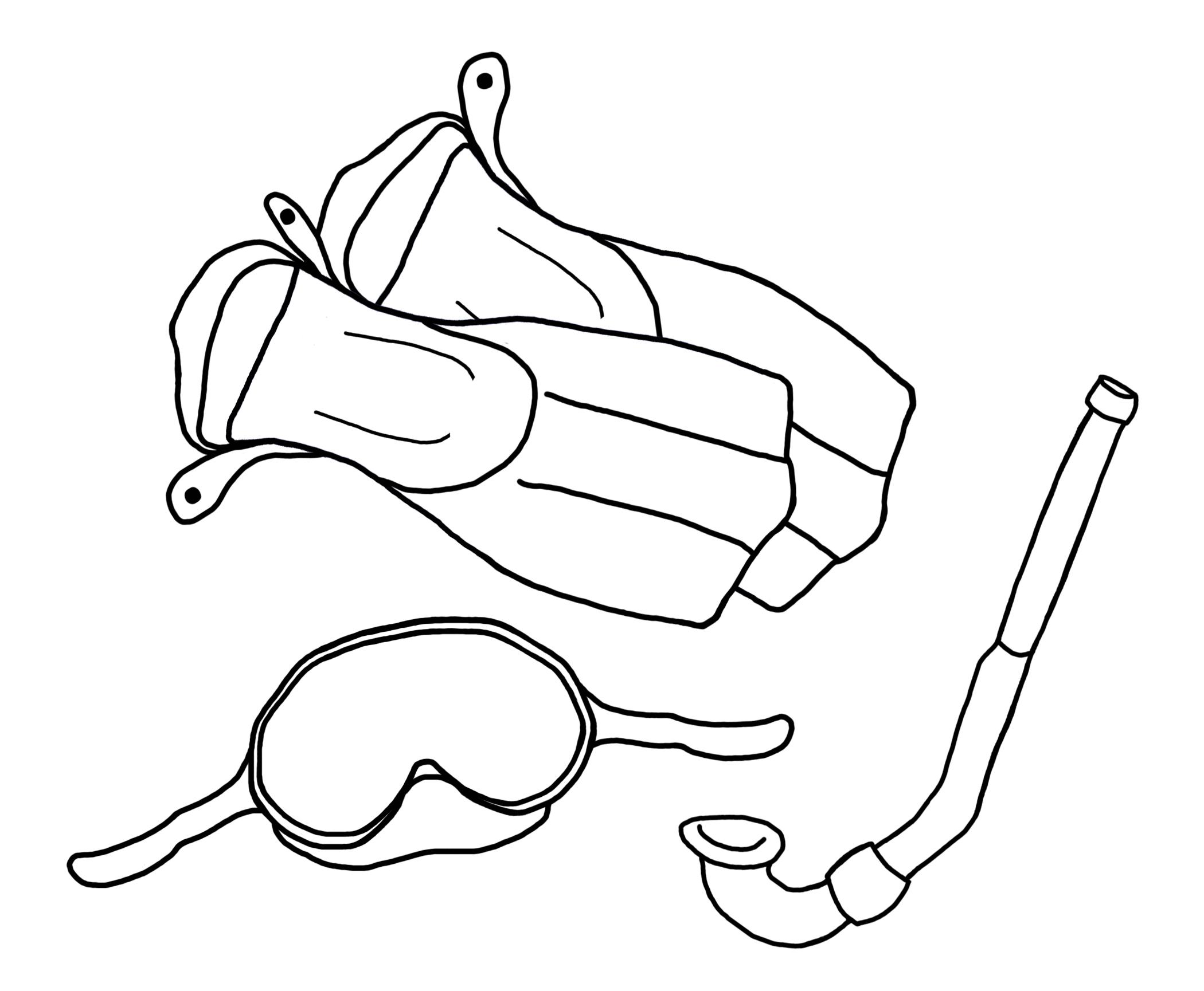 2100x1730 Snorkeling Coloring Pages Ship Wreck Coloring Pages