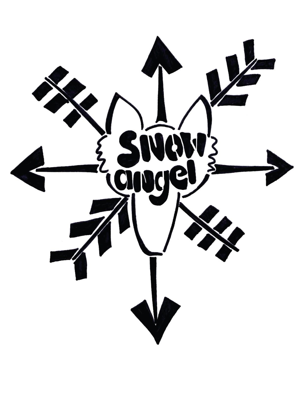 1236x1600 Snow Angel Band Logo With Variation Elaine Elwick Barr Portfolio