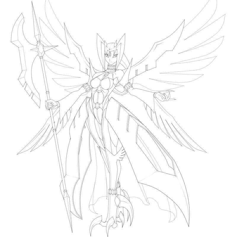 800x800 Art] Ice Angel Polariszero Ygo Amino