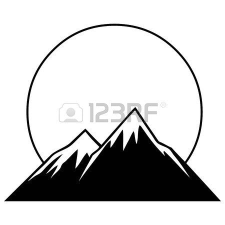 450x450 Mountain Graphic Royalty Free Cliparts, Vectors, And Stock