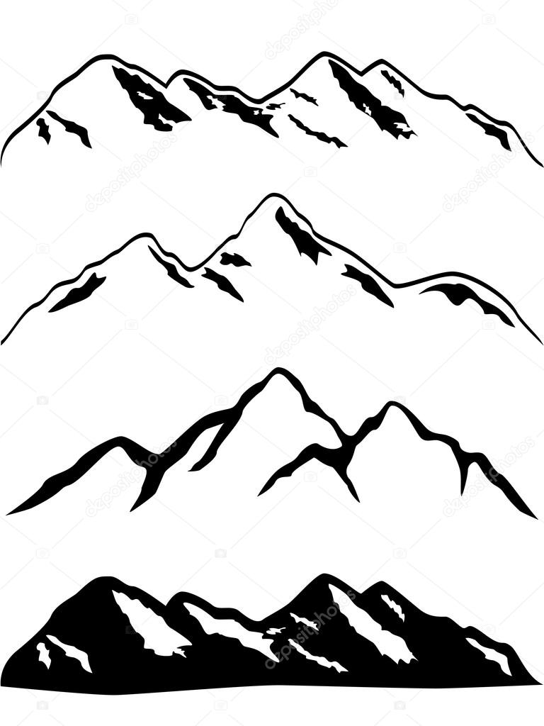 768x1024 Mountain Stock Vectors, Royalty Free Mountain Illustrations