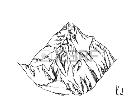 450x360 418 Snowcapped Mountain Stock Illustrations, Cliparts And Royalty
