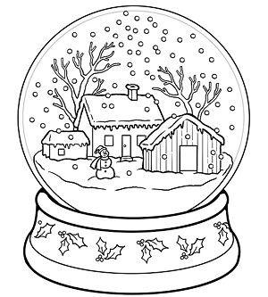300x333 Free Snow Globe Builder Printables Free