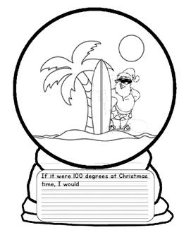 271x350 If I Were In A Snow Globe Writing Teaching Resources Teachers