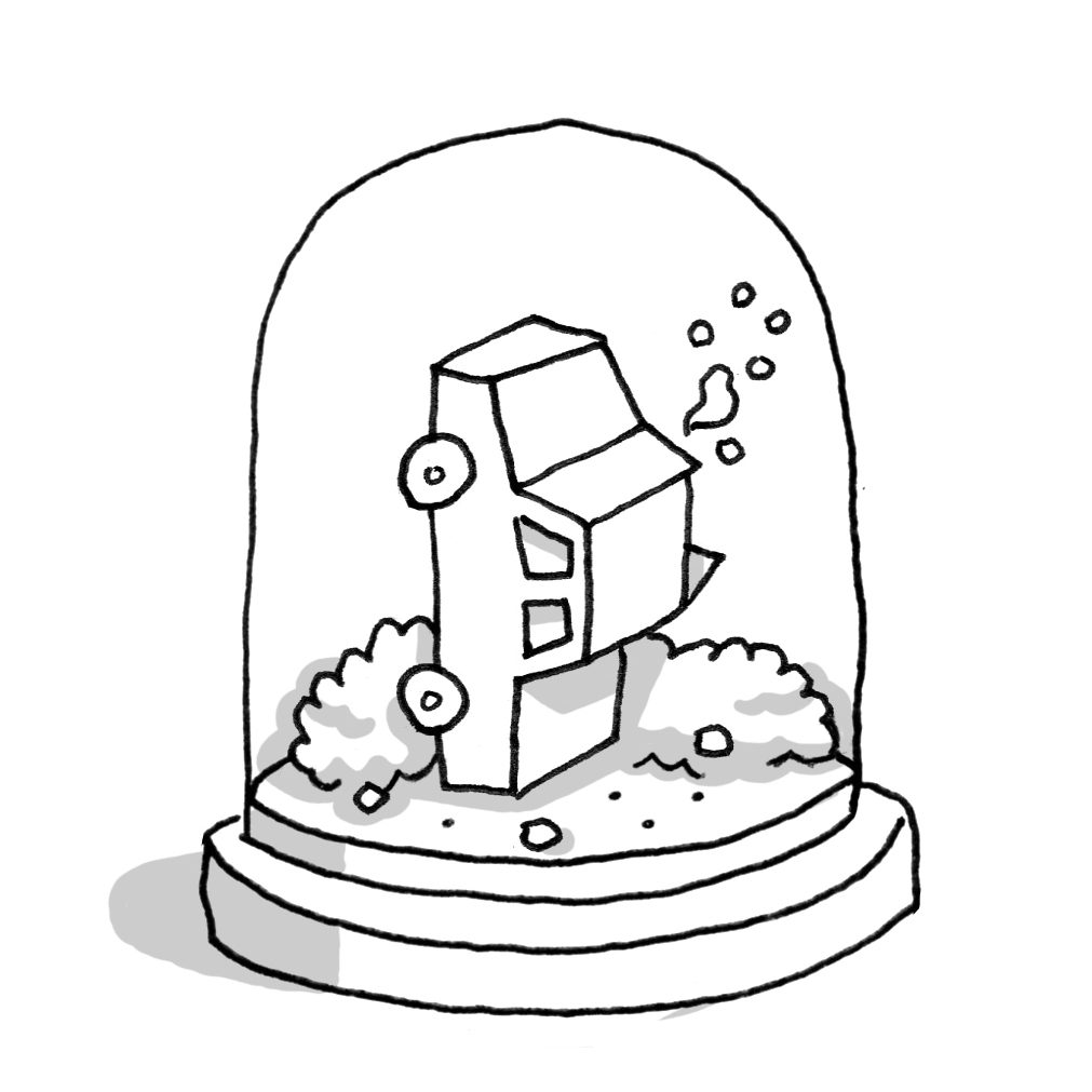 1011x1011 Snow Globe Coloring Pages