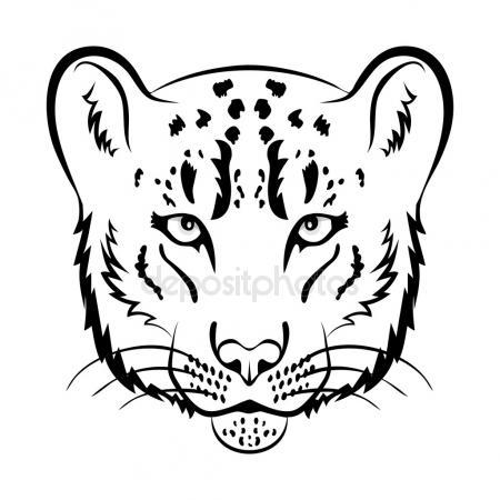 450x450 Snow Leopard Stock Vectors, Royalty Free Snow Leopard