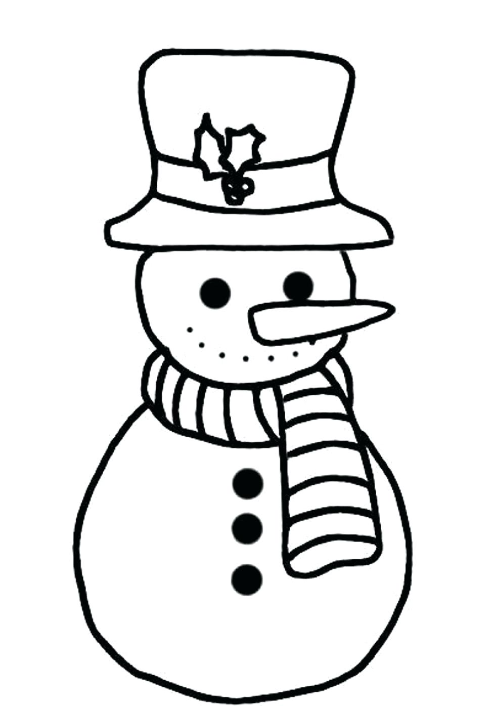 973x1395 Innovative Snow Man Coloring Page Gallery Ideas