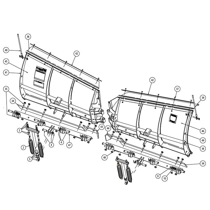 700x700 Snowdogg Snowplow Parts Amp Diagrams