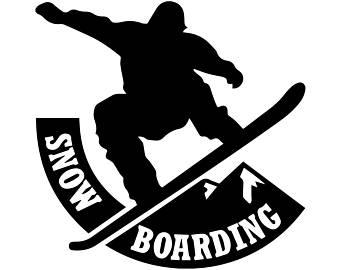 340x270 Snowboarder Svg Etsy