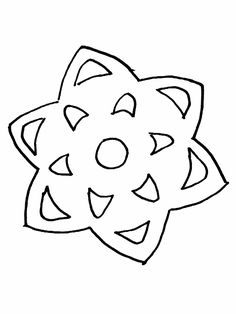236x314 Free Snowflake Coloring Page From Super Simple Learning. Tons