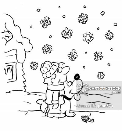 400x429 Snowflakes Cartoons And Comics