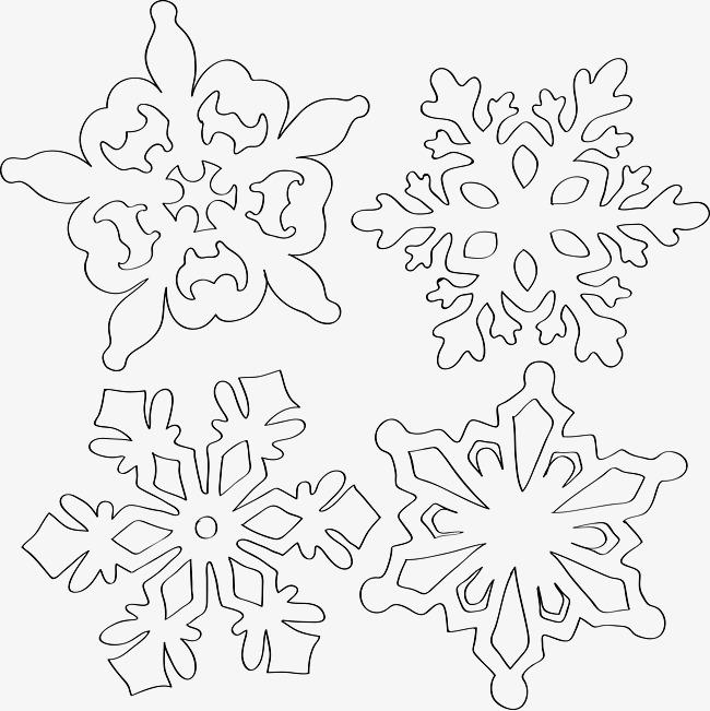 650x651 Cartoon Snowflakes, Snowflake, Cartoon, Flowers Png Image For Free