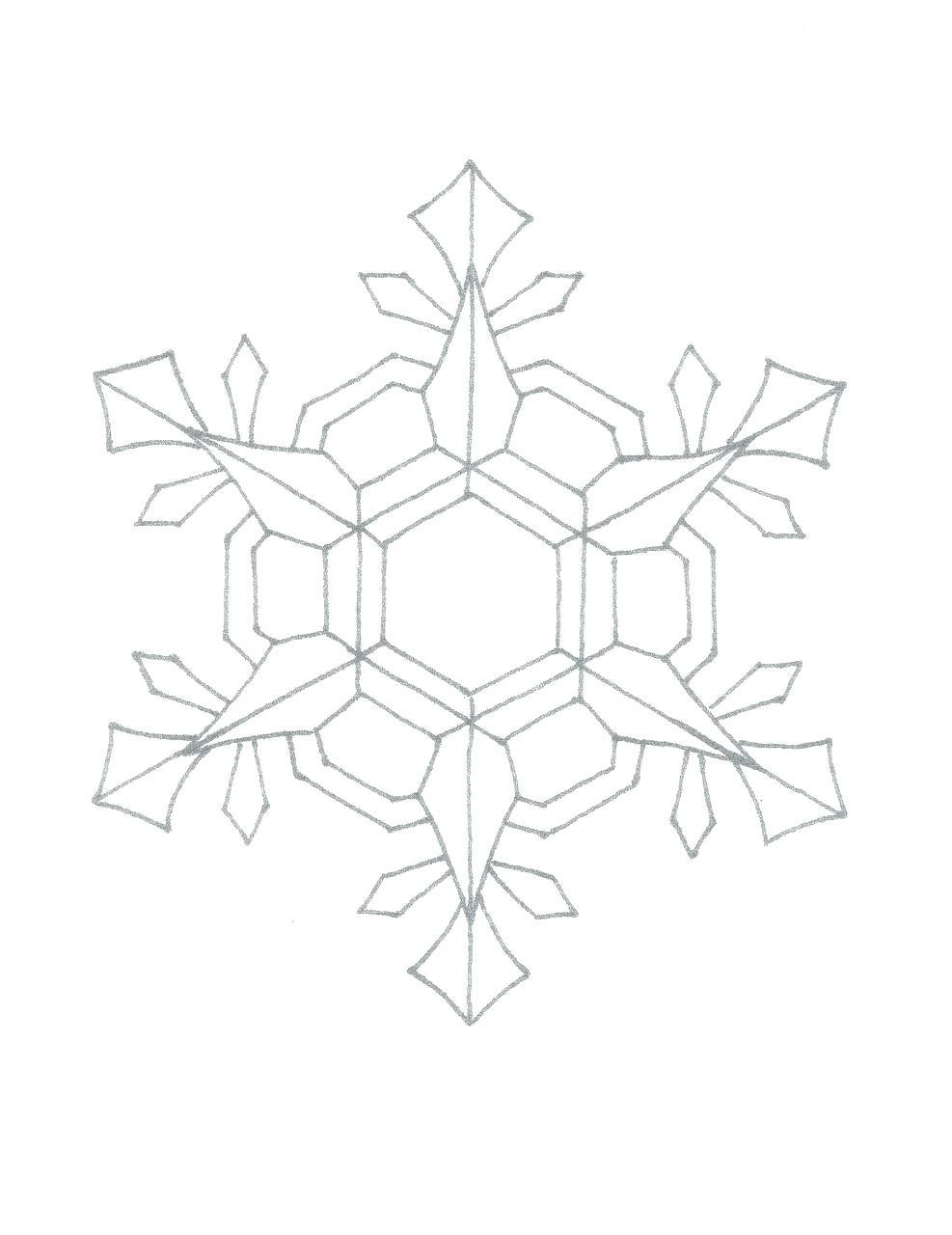 987x1280 Printable Elsa Snowflake Stencil Printable Frozen Drawing