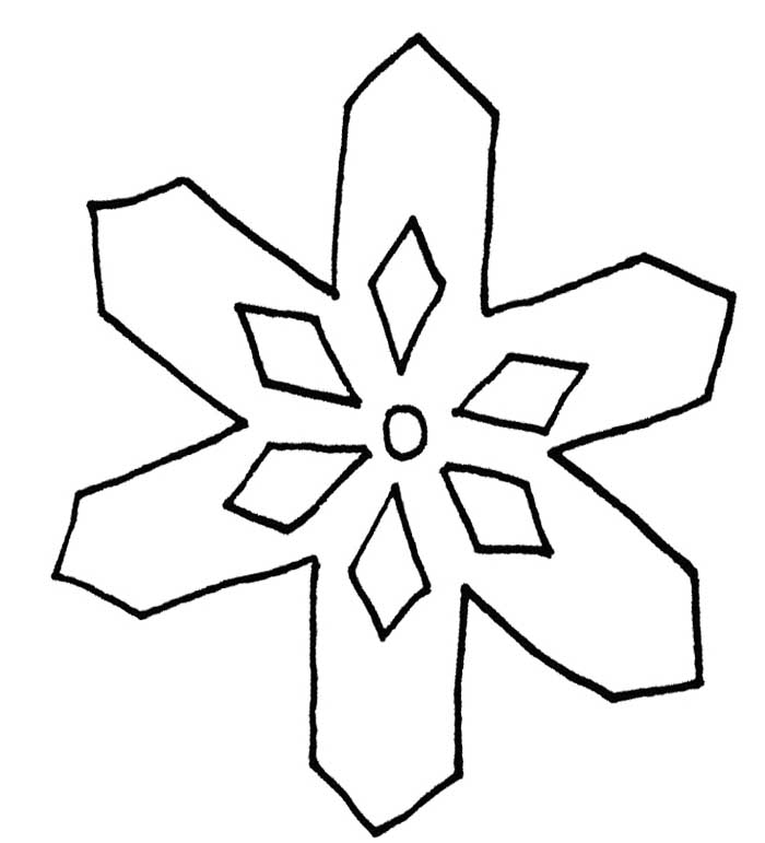 700x771 Coloring Pages Wonderful Coloring Pages Draw A Snowflake