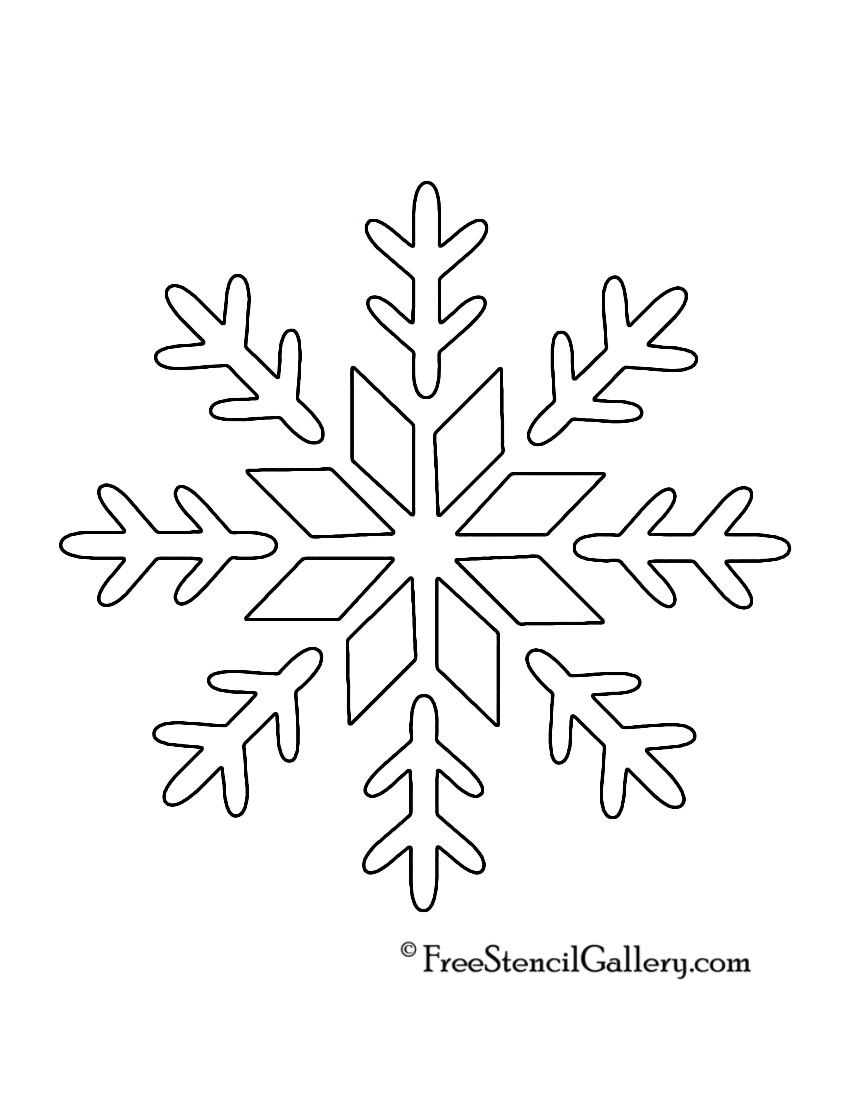 Snowflake Templates | Blank Snowflake Template Kendi Charlasmotivacionales Co