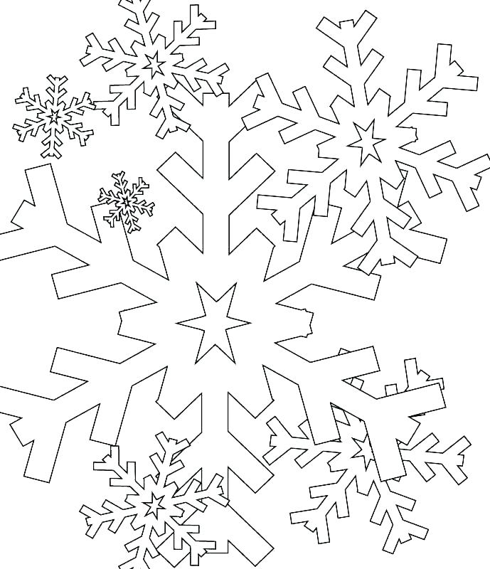 689x800 Snow Flake Coloring Pages Coloring Page Snowflake Snowflake