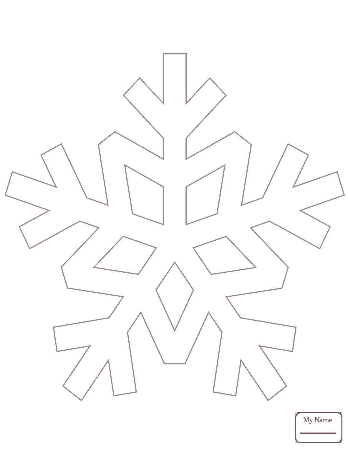 1182x1530 Snowflake Arts Culture Snowflakes Coloring Pages