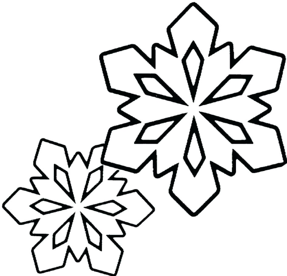 Snowflake Drawing For Kids at GetDrawings.com | Free for personal ...