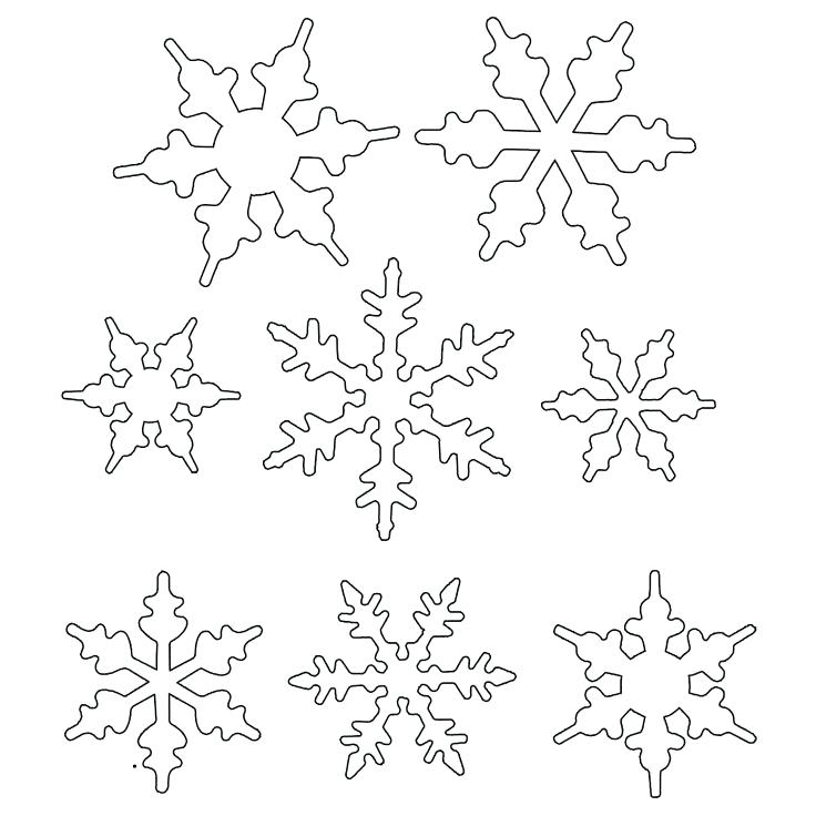 736x736 Coloring Snowflakes Free Snowflake Coloring Pages Coloring
