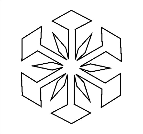 Snowflake Drawing Patterns