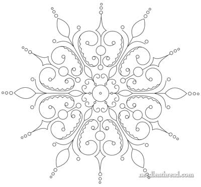 400x373 Evolution Of An Embroidery Pattern