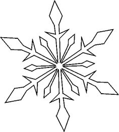 Snowflake Drawing Patterns At Getdrawings Free For Personal