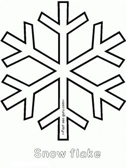 254x338 The Best Snowflake Coloring Pages Ideas