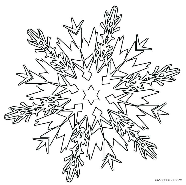 750x745 Coloring Page Snowflake Printable Snow Flakes Printable Snowflake