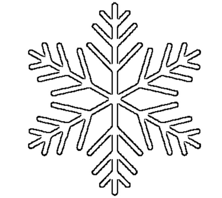 Snowflake drawing simple at getdrawings free for personal use 736x655 cute easy snowflake templates ideas maxwellsz