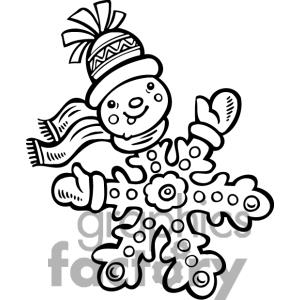 300x300 Drawing Clipart Snowflake