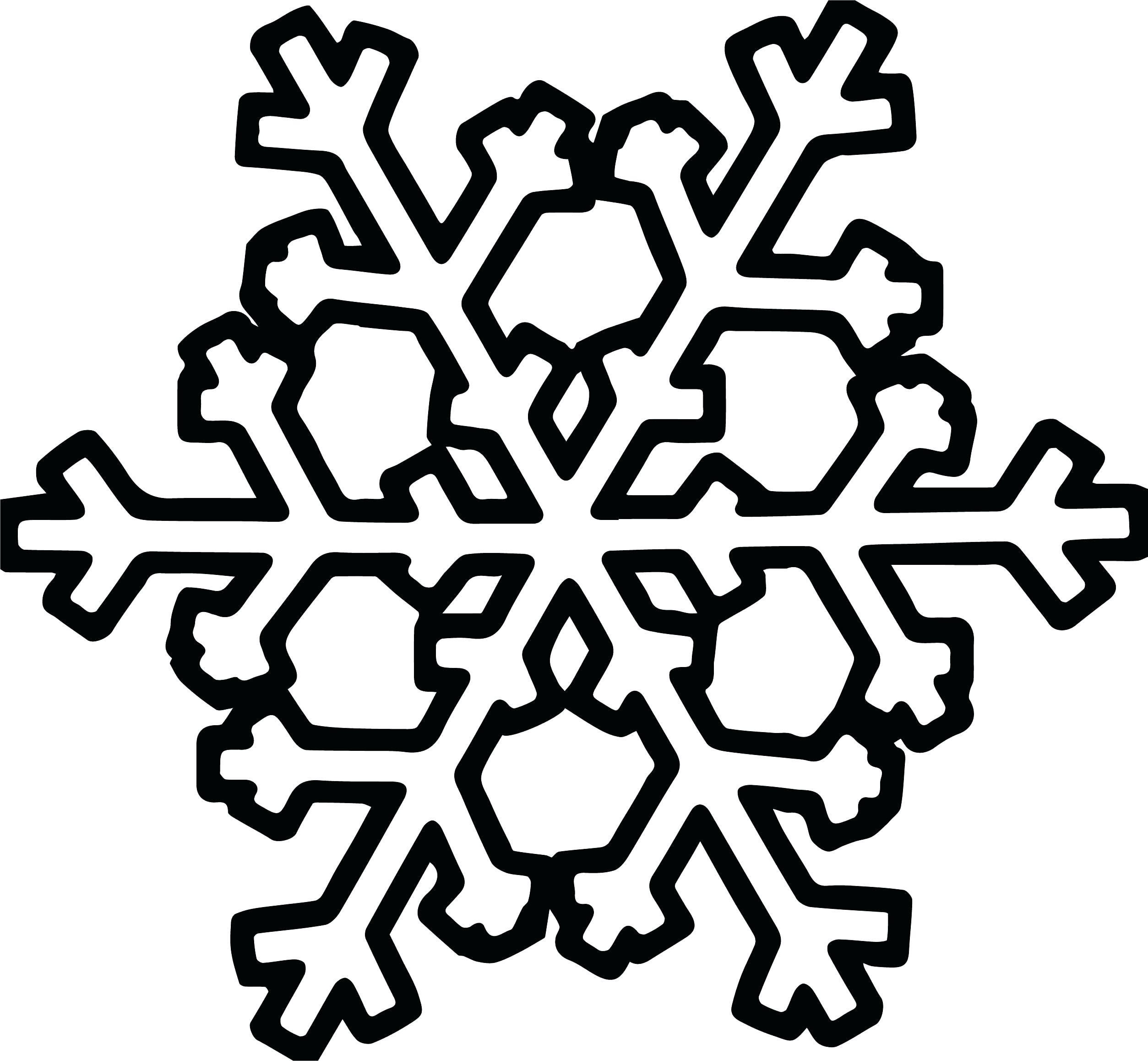Snowflake Drawing Simple at GetDrawings | Free download