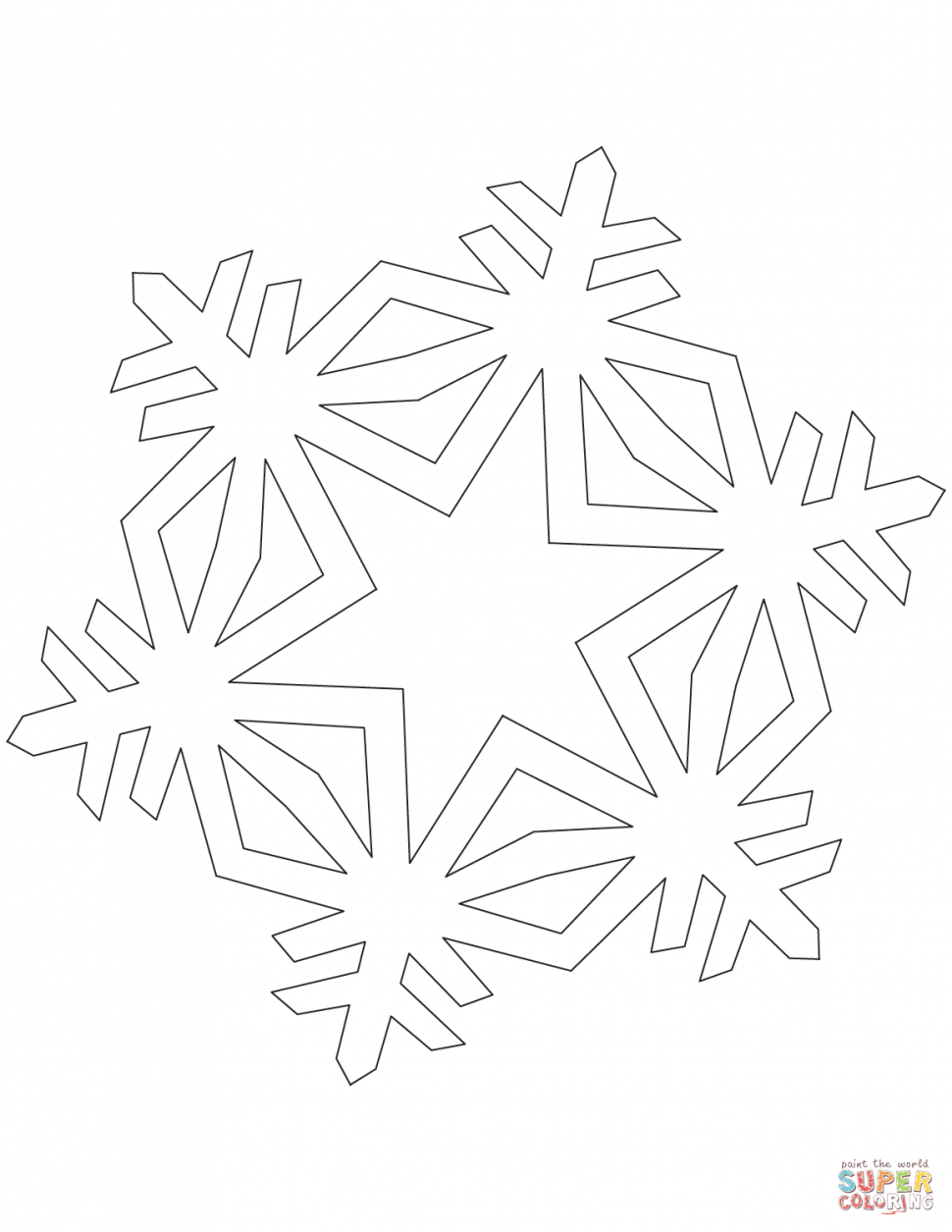 970x1255 Coloring Star Coloring Page Book Snowflake Patternscoloring