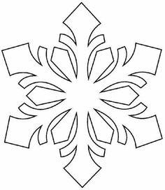 236x272 Free Printable Snowflake Templates Large Amp Small Stencil