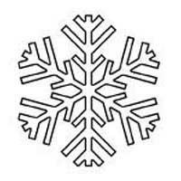 200x200 Snowflake Patterns