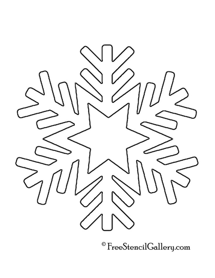 736x951 Snowflake Stencil Template The 25 Best Ideas On Paper