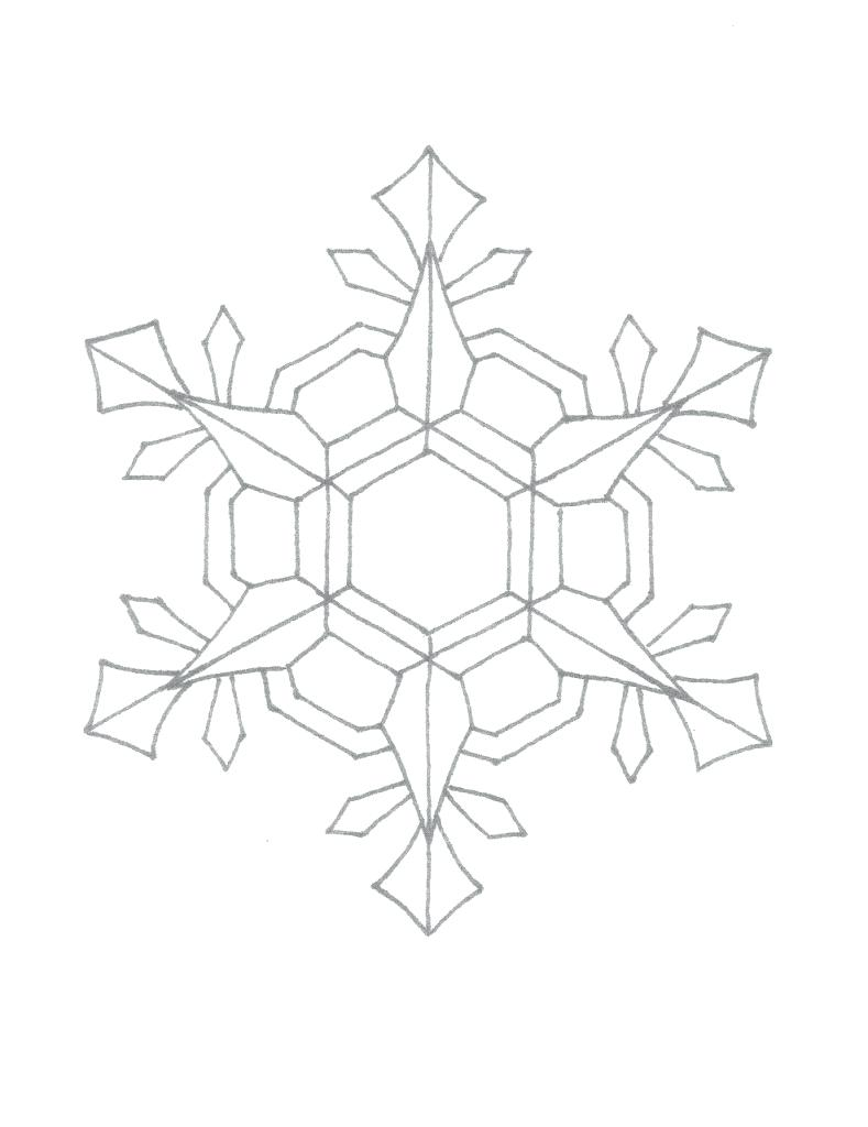 789x1024 Coloring Christmas Snowflake Coloring Pages