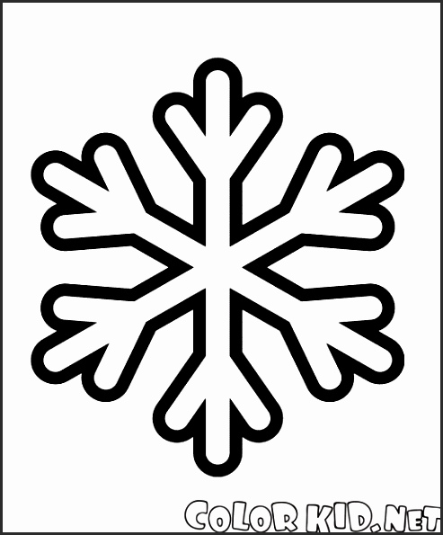 Snowflake Easy Drawing