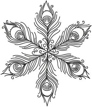 300x346 The Best Easy Snowflake Drawing Ideas On Snowflake