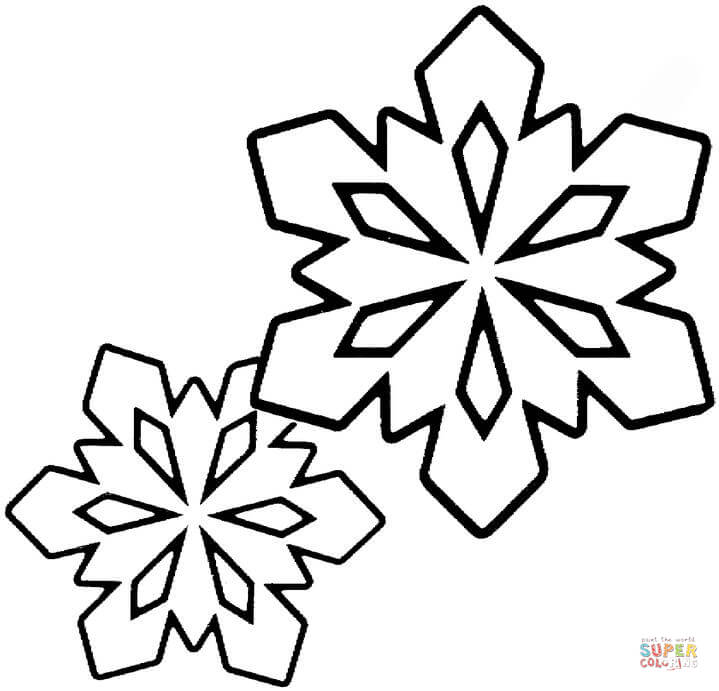 Snowflake Easy Drawing at GetDrawings.com | Free for personal use ...